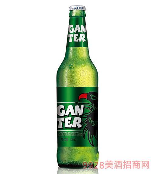 甘特尔绿鹰啤酒500ml