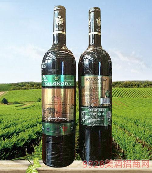 卡隆达有机红葡萄酒13.5度