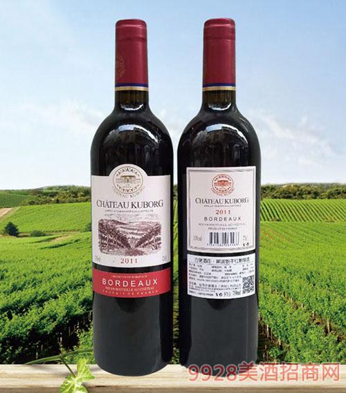 拉菲古堡斯波朗干红葡萄酒(红光标)13度