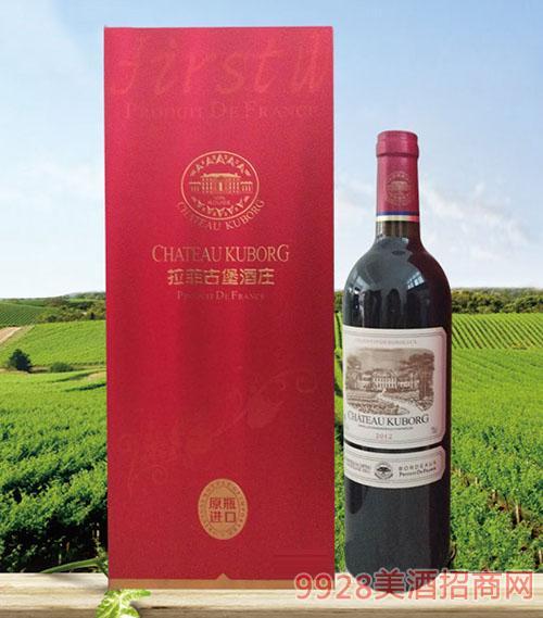 拉菲古堡斯波朗干红葡萄酒(红礼盒)13度