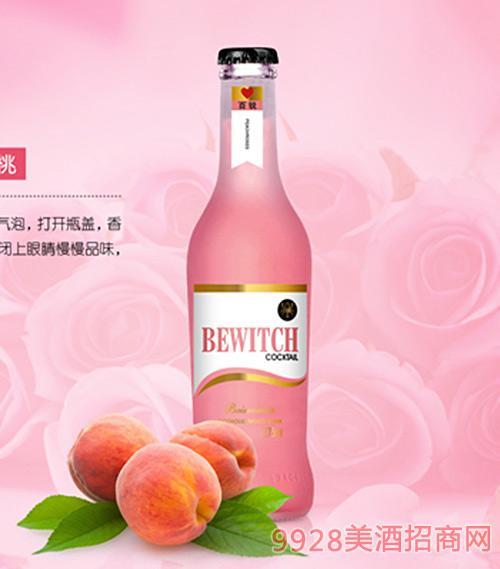 百锐果汁鸡尾酒玫瑰蜜桃