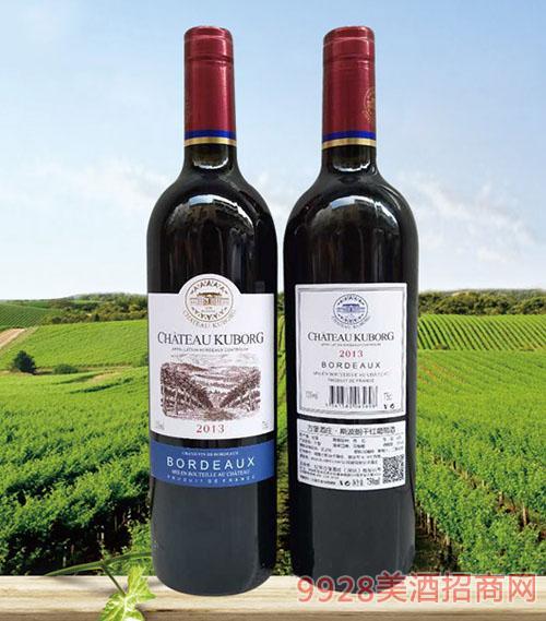 拉菲古堡斯波朗干红葡萄酒(蓝光标)13度