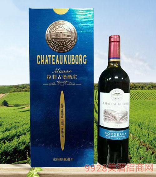 拉菲古堡斯波朗干红葡萄酒(铜牌蓝礼盒)13度