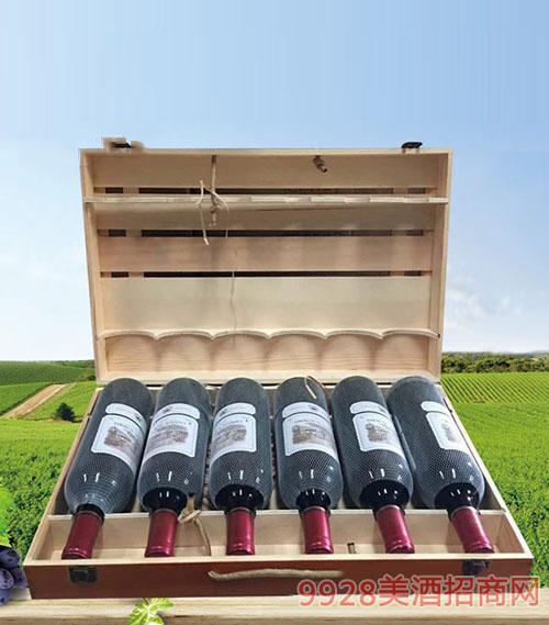 拉菲古斯波朗干红葡萄酒(扁木箱)13度