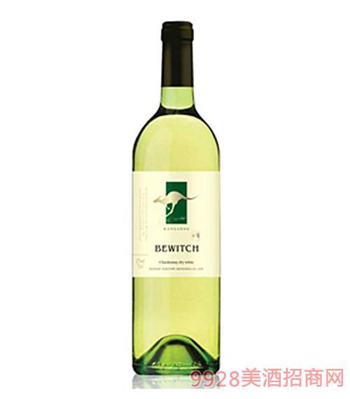 澳洲百锐袋鼠霞多丽干白葡萄酒