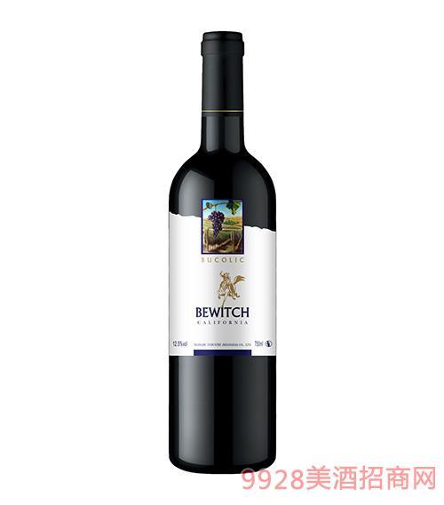 美国加州田园风光干红葡萄酒