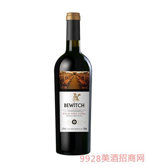 美国加州大酒窖八年干红葡萄酒
