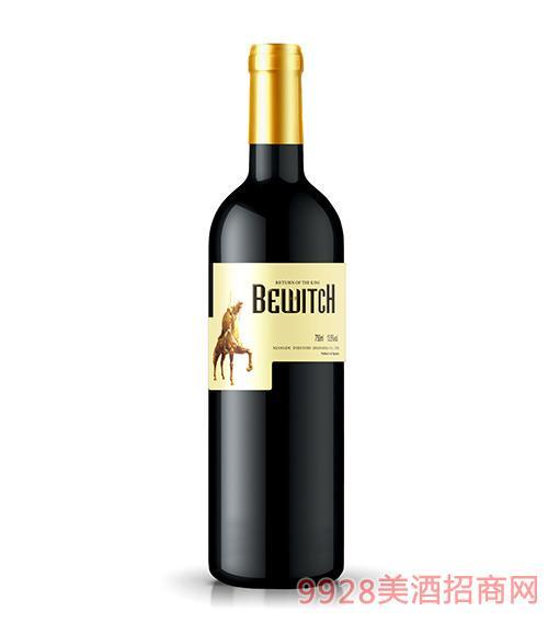 西班牙骑士王者归来干红葡萄酒