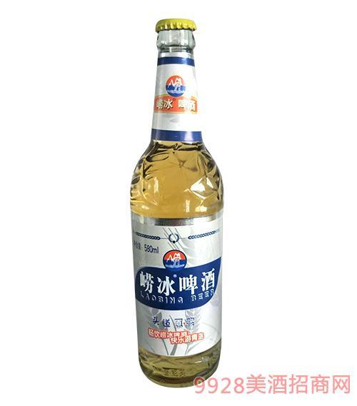 崂冰啤酒头道原浆啤酒580ml