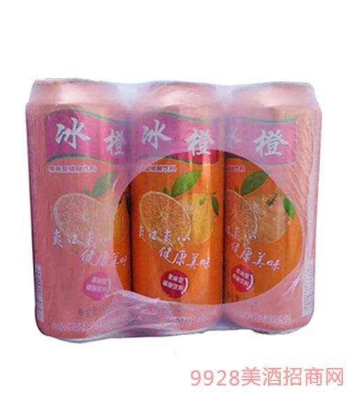 青伦冰橙碳酸饮料