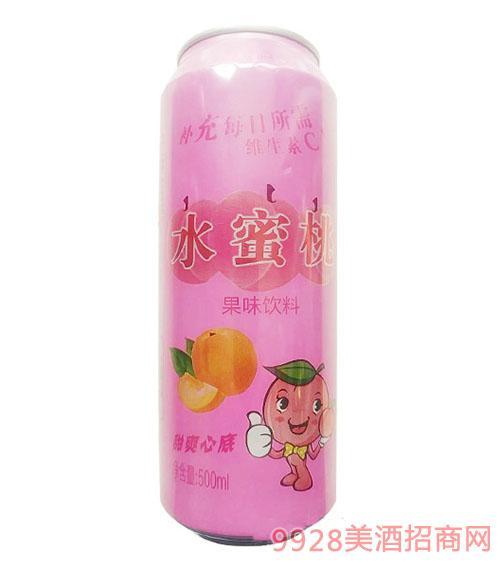 水蜜桃果味饮料500ml