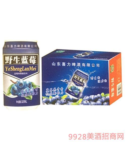 喜力野生蓝莓饮料