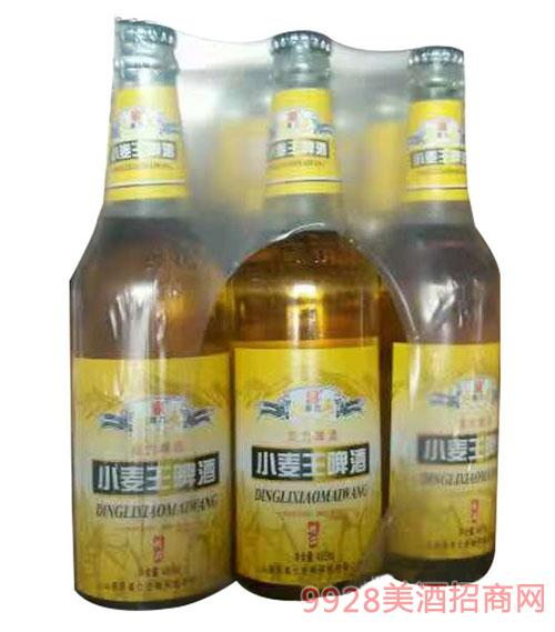 青伦鼎力小麦王啤酒精品塑包