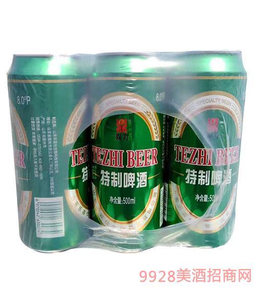 青伦鼎力特制啤酒500ml