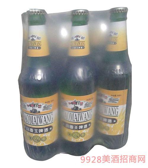 青伦鼎力小麦王啤酒500ml