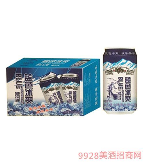 喜力蓝色冰爽啤酒