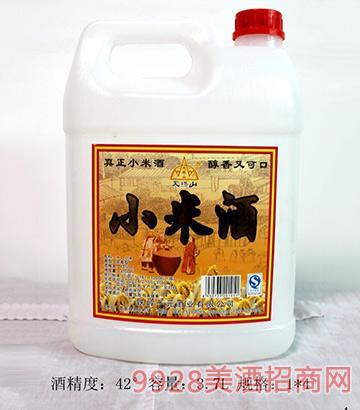 天桥山小米酒42度3.7L