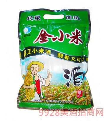 金小米袋酒