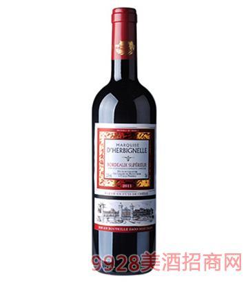 迪翰比利侯爵夫人红葡萄酒