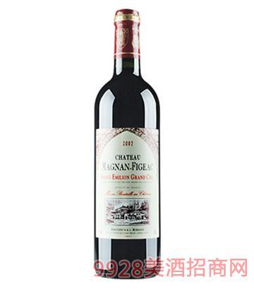 马良飞雅克城堡红葡萄酒