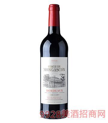 波尔多红葡萄酒