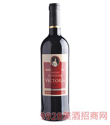 维多瑞女爵红葡萄酒