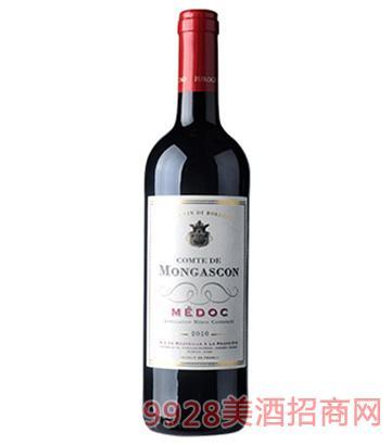 梅多克红葡萄酒