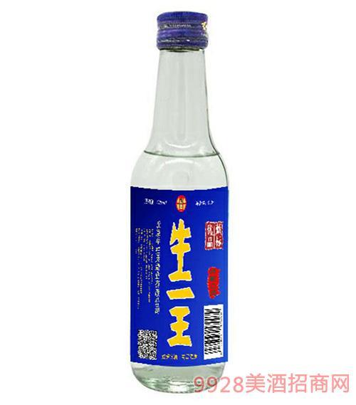 42度牛二王陈酿酒优质蓝标250ml