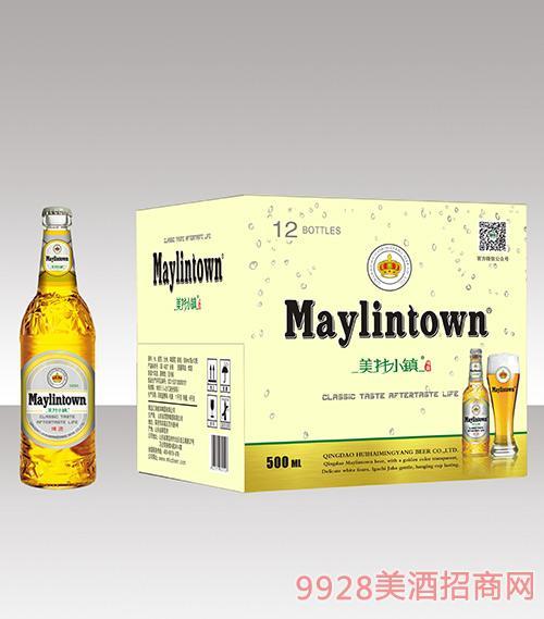 美林小镇啤酒330ml棕瓶招商_青岛汇海铭洋啤酒有限-美