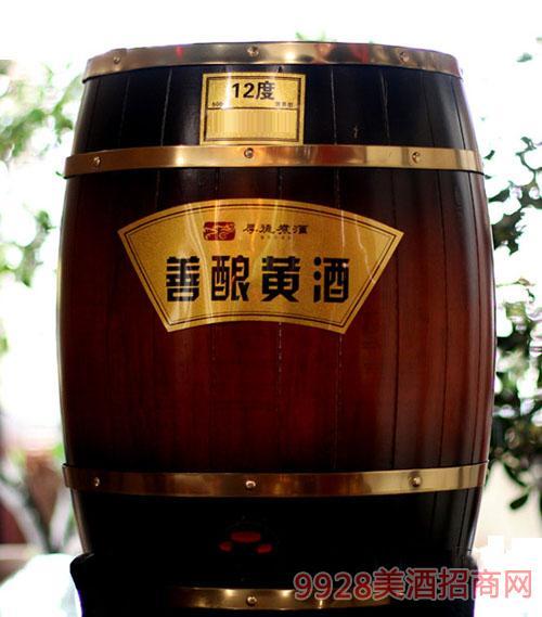 厚德煮酒善酿黄酒