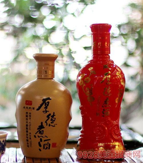 厚德煮酒红瓶米瓶酒