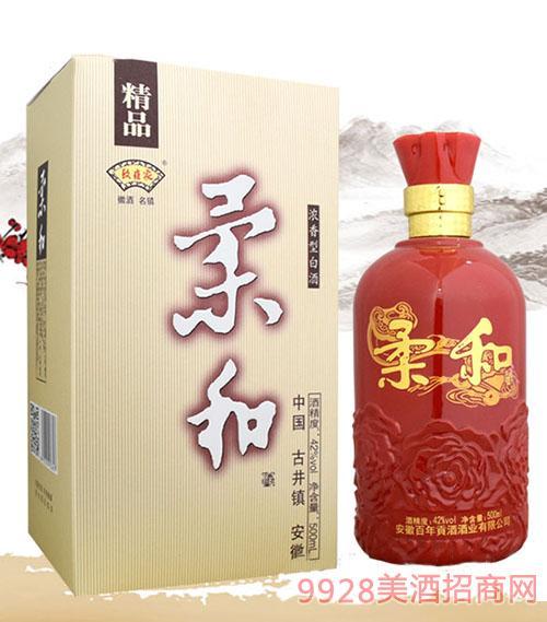 唐水坊精品柔和酒42度500ml