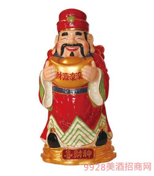 台湾高粱酒58度喜财神