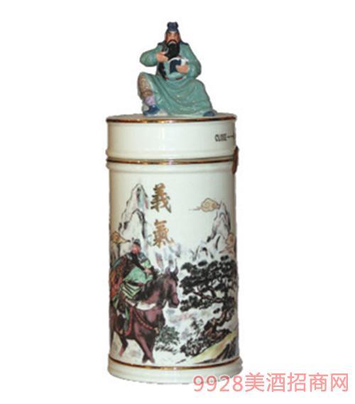 台湾高粱酒58度义气酒