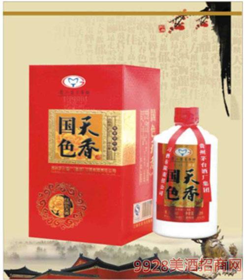 红国色天香酒52度500ml浓香
