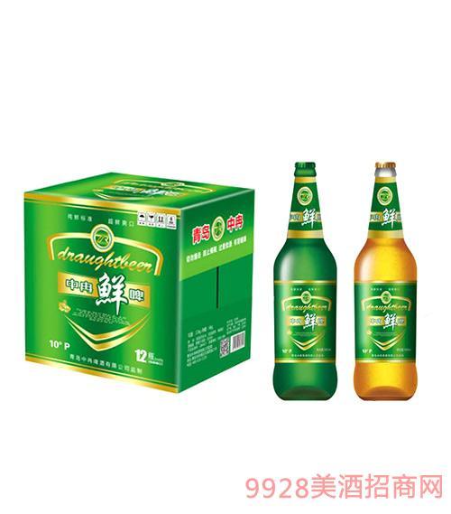 中冉鲜啤500ml×12瓶