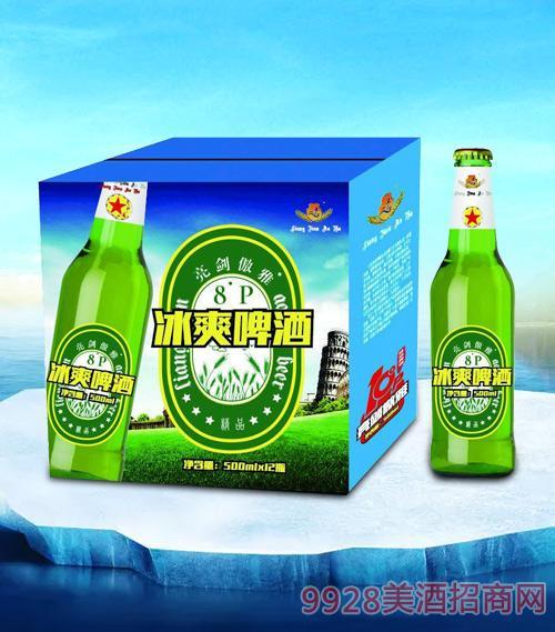 亮剑傲雅冰爽啤酒500ml-瓶啤