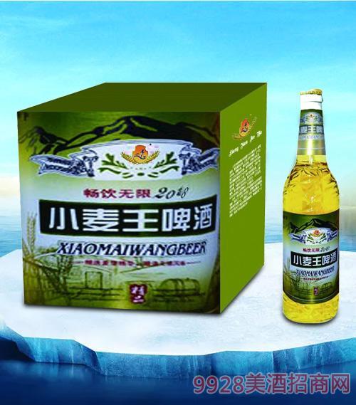 亮剑2018小麦王啤酒500ml-瓶啤