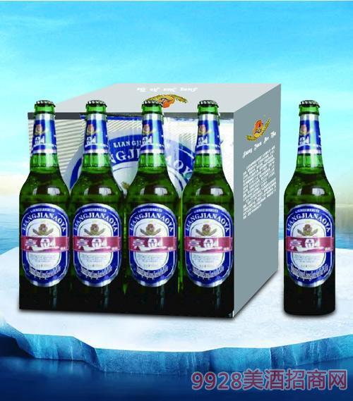 亮剑傲雅啤酒瓶装500ml(箱装)-瓶啤