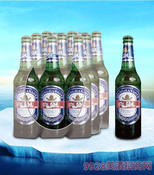 亮剑傲雅啤酒500ml瓶装-瓶啤