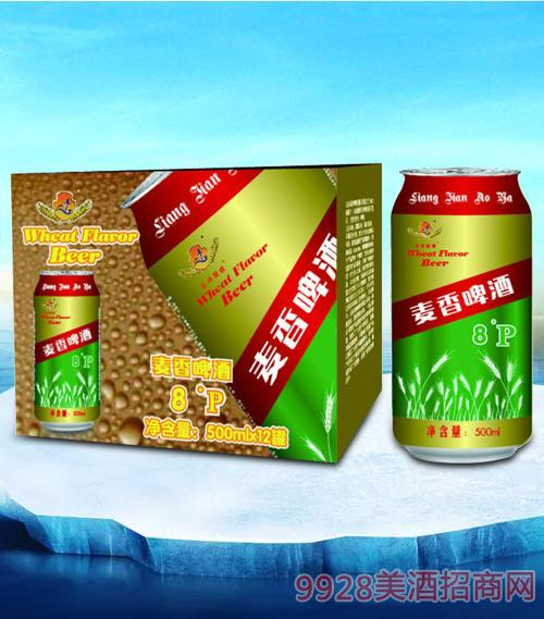 亮剑麦香啤酒500ml-易拉罐