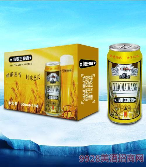 亮剑小麦王啤酒500ml-易拉罐