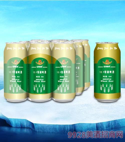 亮剑特制啤酒罐装500ml塑包-易拉罐