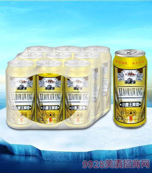 亮剑小麦王啤酒500ml塑包-易拉罐