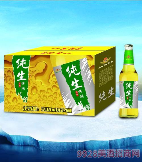 亮剑纯生啤酒330ml-瓶啤