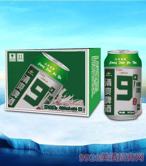 亮剑清爽啤酒320ml-易拉罐