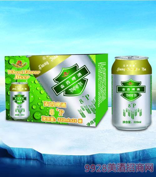 亮剑麦香啤酒320ml-易拉罐
