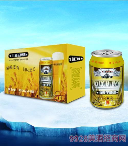 亮剑啤酒小麦王啤酒320ml-易拉罐