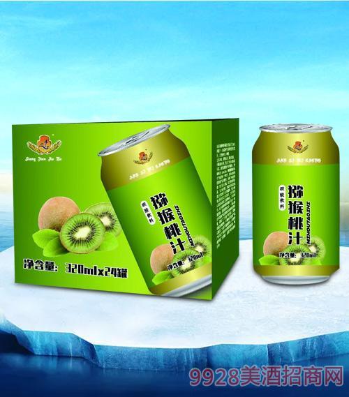 亮剑猕猴桃汁320mlx24