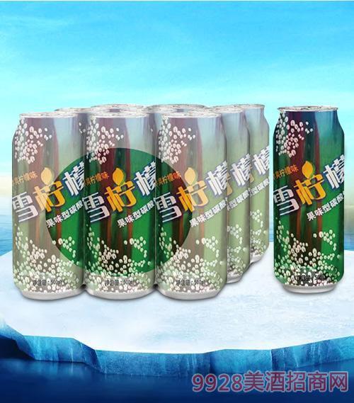 亮剑雪柠檬果味型碳酸饮料500ml